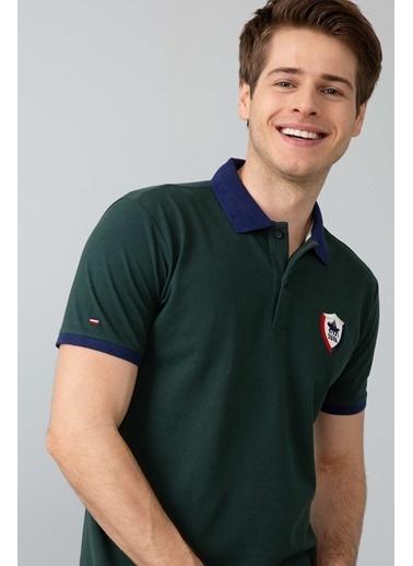 U.S.Polo Assn. Polo Yaka Tişört Yeşil